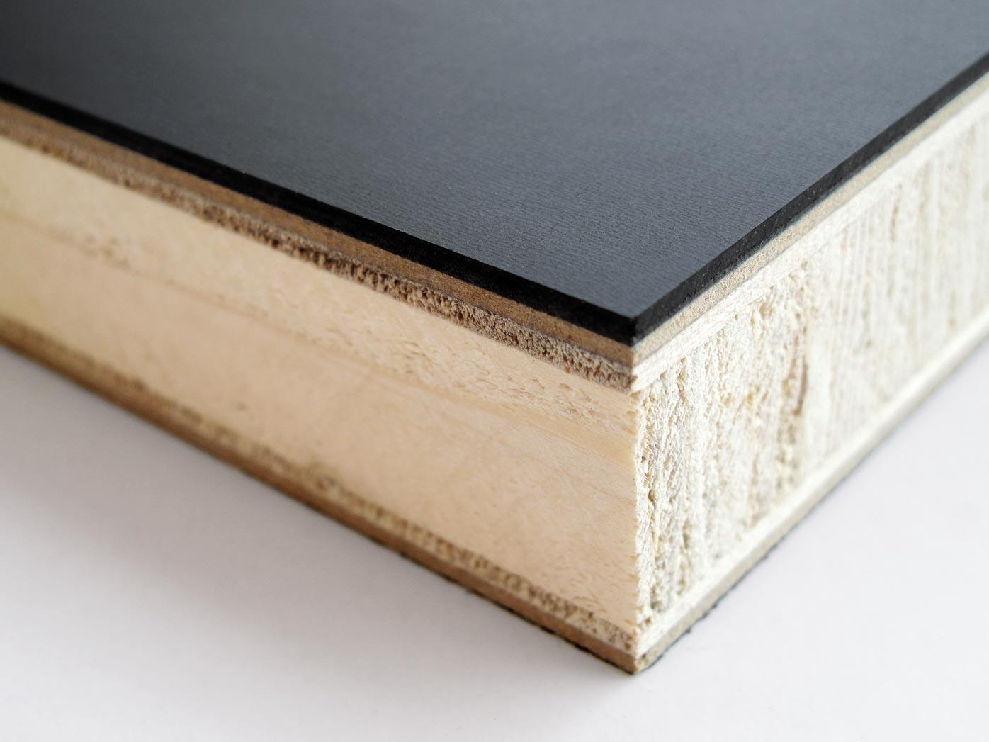 L z sinusid tisch linoleum for Linoleum schwarz