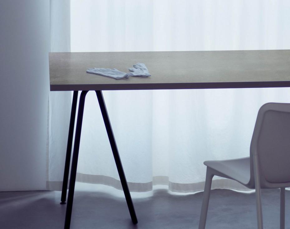 tisch aus beton